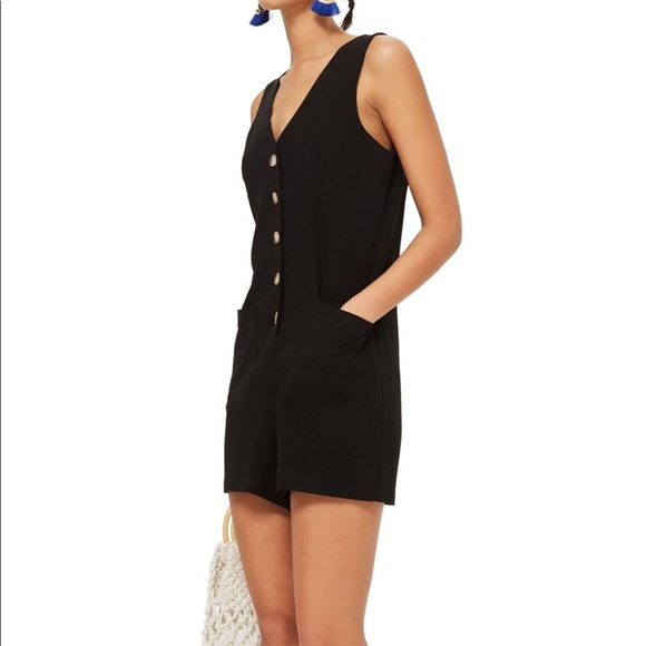 Topshop Other - Topshop Button Romper